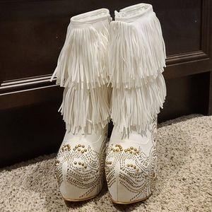 Super bling stiletto boots!